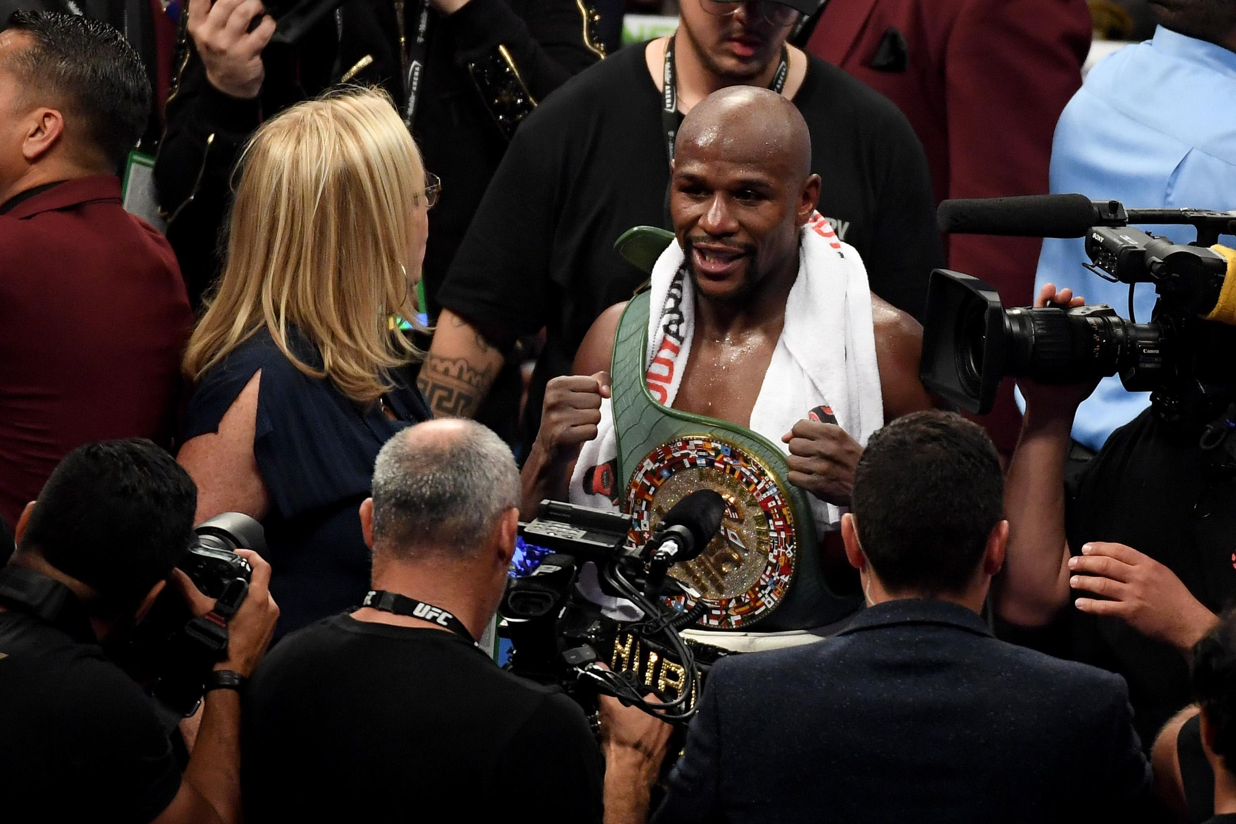 What is #MeToo? Floyd Mayweather thinks it's about something different