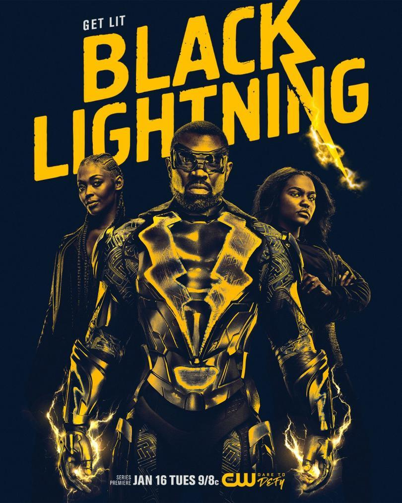 Watch two clips from the series premiere of Black Lightning - 'The Resurrection'