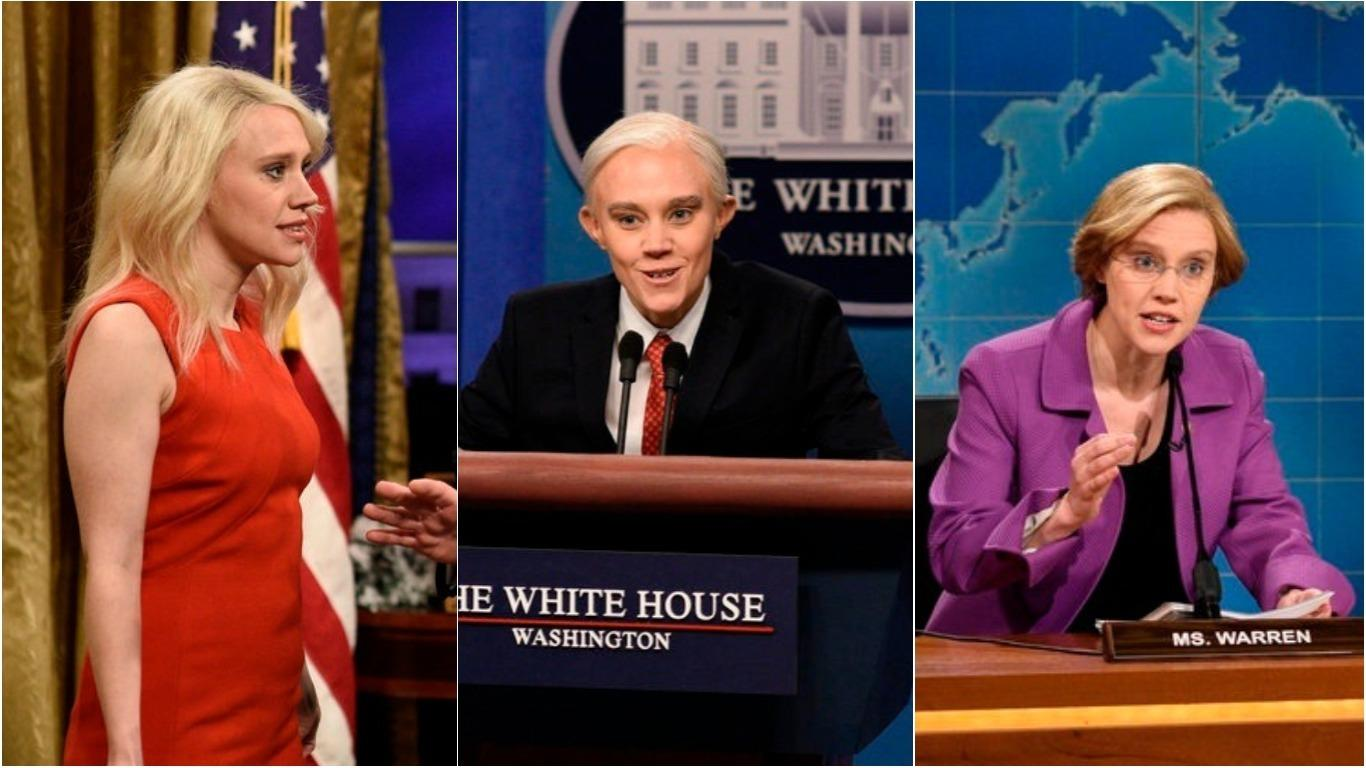 Watch Snl Star Kate Mckinnon S Top 9 Political Impressions
