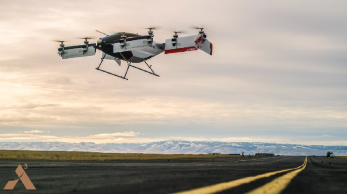 Vahana single passenger autonomous aircraft takes first flight