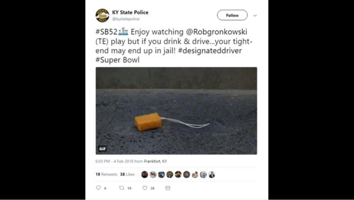 Kentucky pol demands apology after police tweet rape joke during Super Bowl