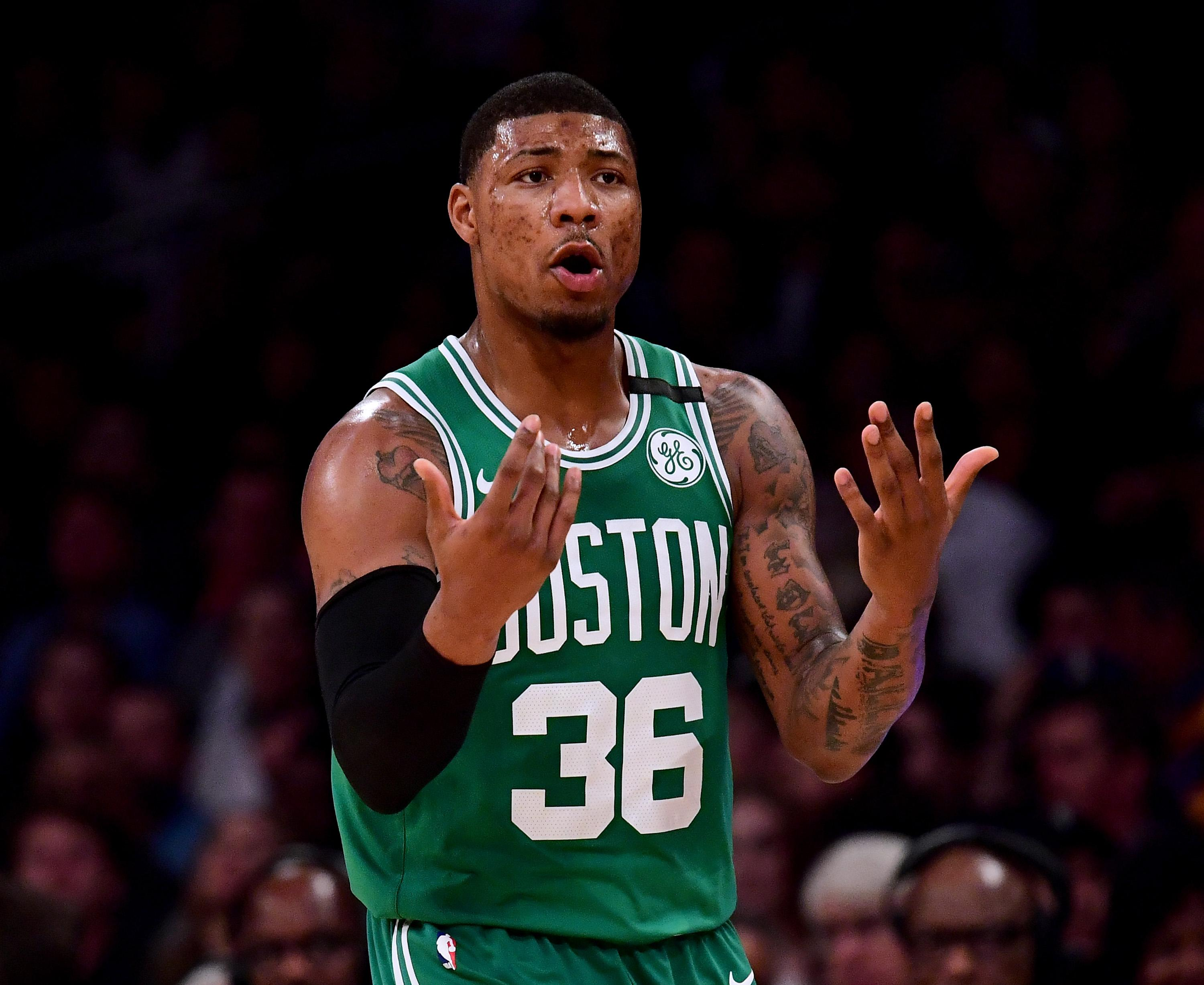 Celtics exploring trades for Marcus Smart