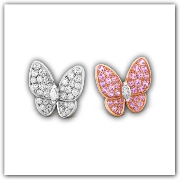 Butterfly earrings, Van Cleef & Arpels