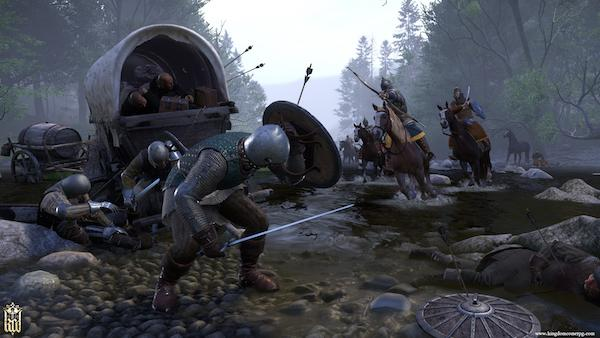 Kingdom Come: Deliverance Launch Trailer Arrives With Day One Patch Size