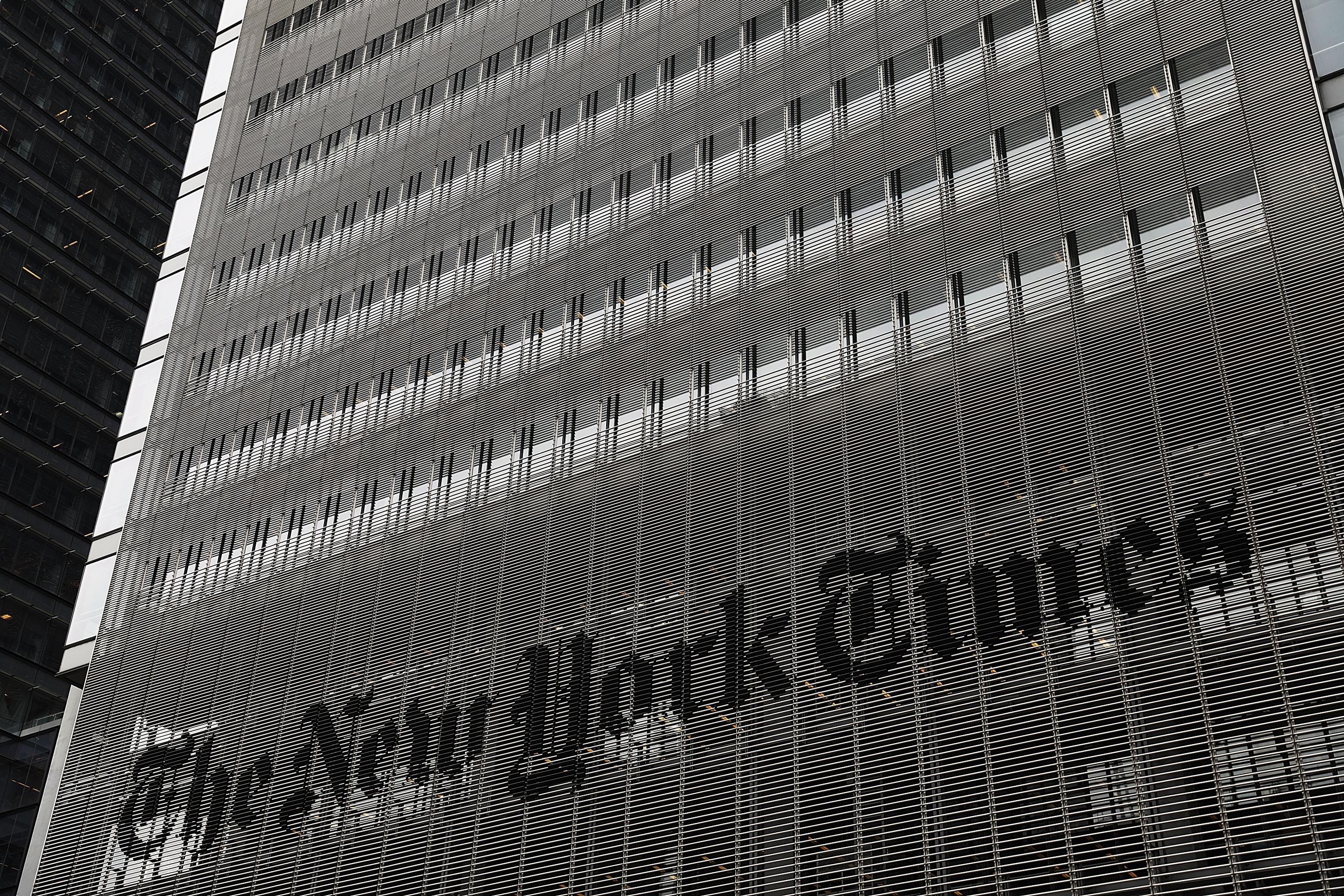 NY Times Abruptly Fires Its New Nazi-Befriending Editorial Board Hire
