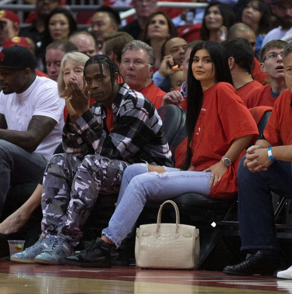 Kylie Jenner, Travis Scott Get Matching Tattoos For Baby Stormi