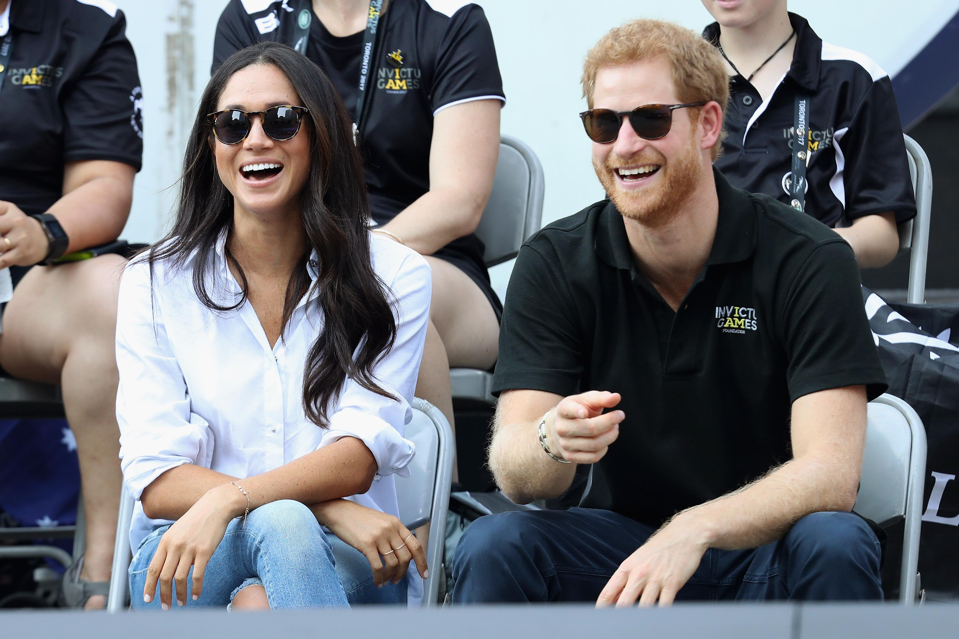 Harry and Meghan in 'Anthrax' nightmare