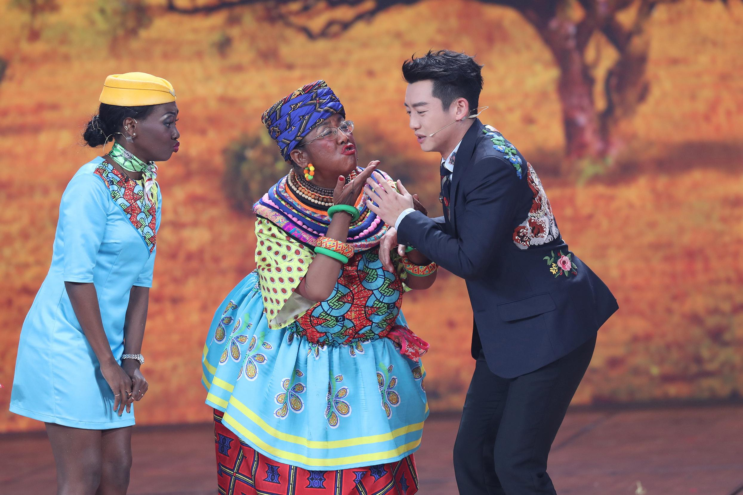 China denies racism, says hyping up TV blackface skit