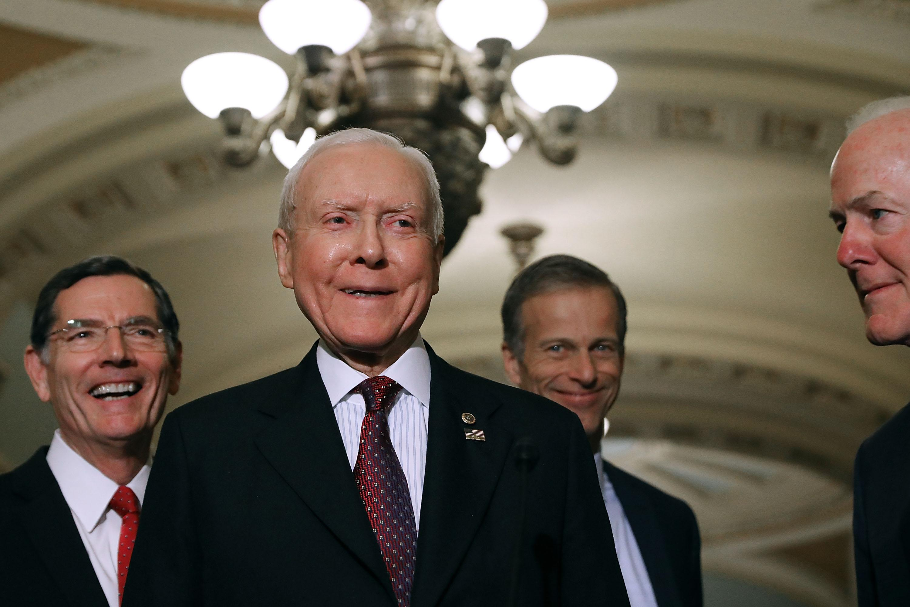 Sen. Hatch calls Affordable Care Act supporters 'stupid,' 'dumbass' people