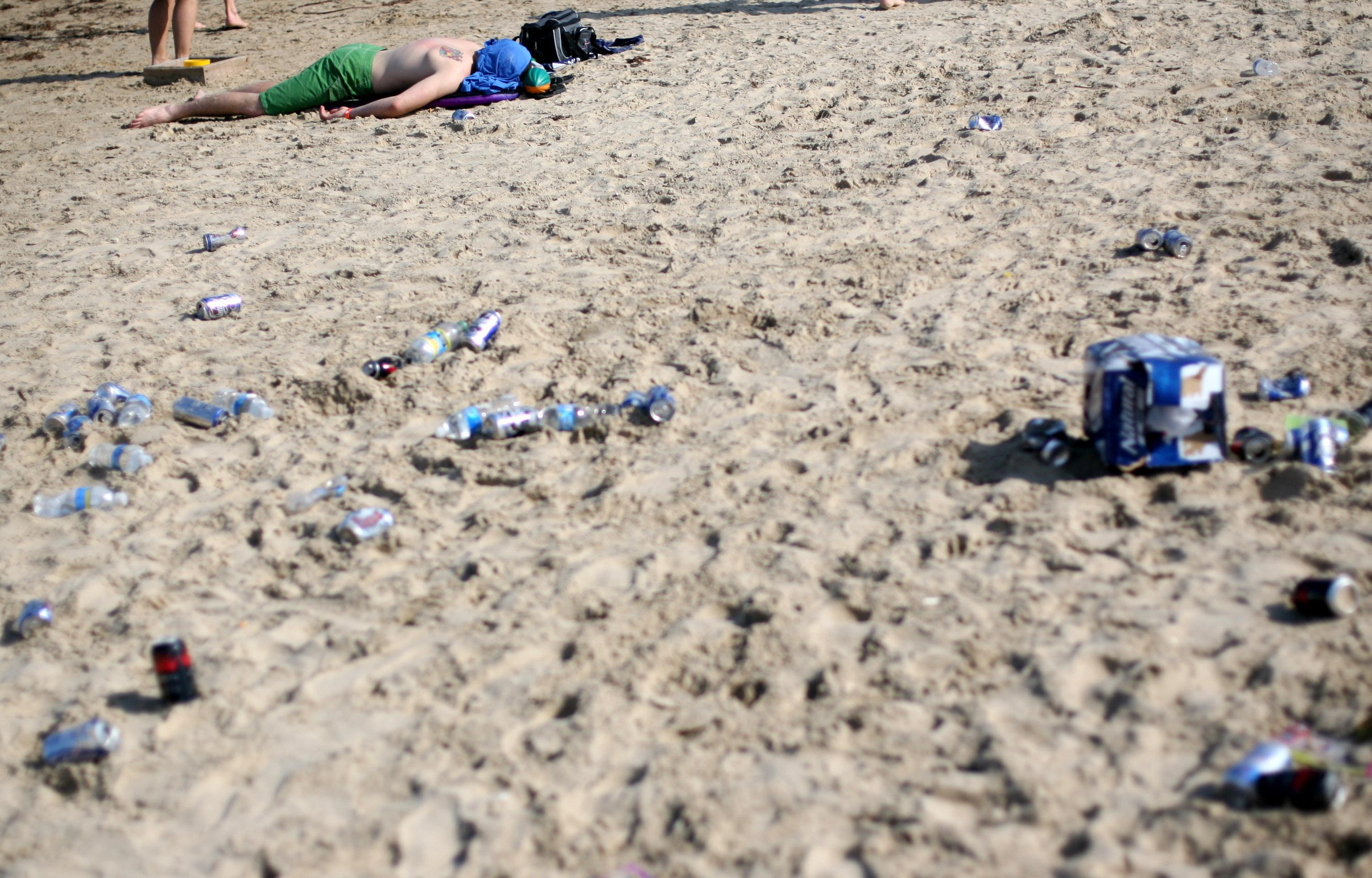 High Levels Of Fecal Matter Reported On Texas Beaches Ahead