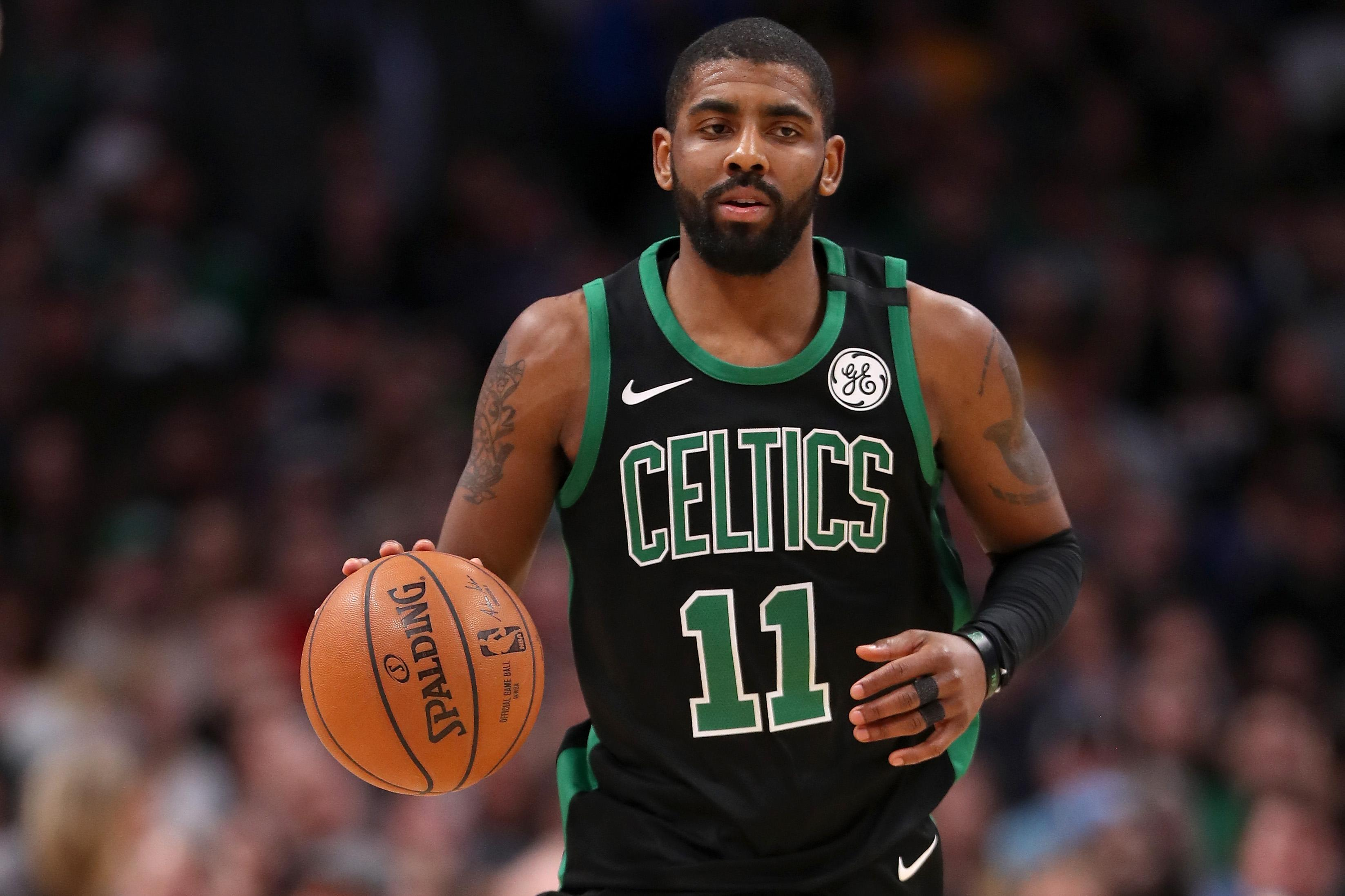 Kyrie Irving exits game versus Pacers with left knee soreness