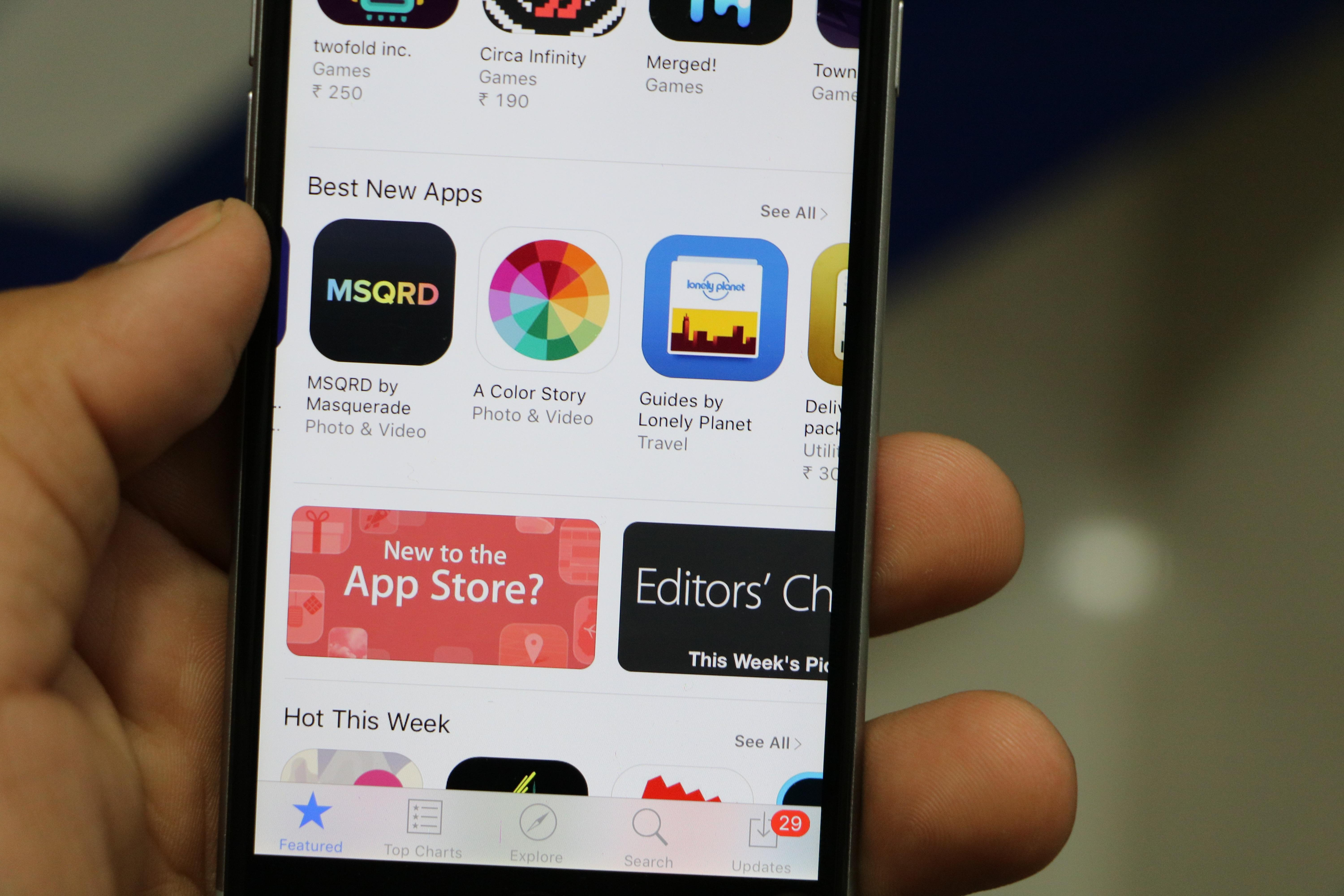 Users in Iran are no longer able to access the App Store