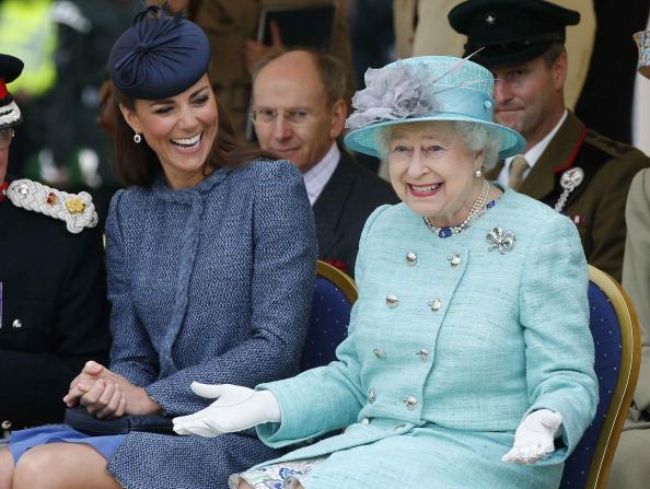 Kate Middleton Goes All-Green and Elegant for St. Patrick's Day