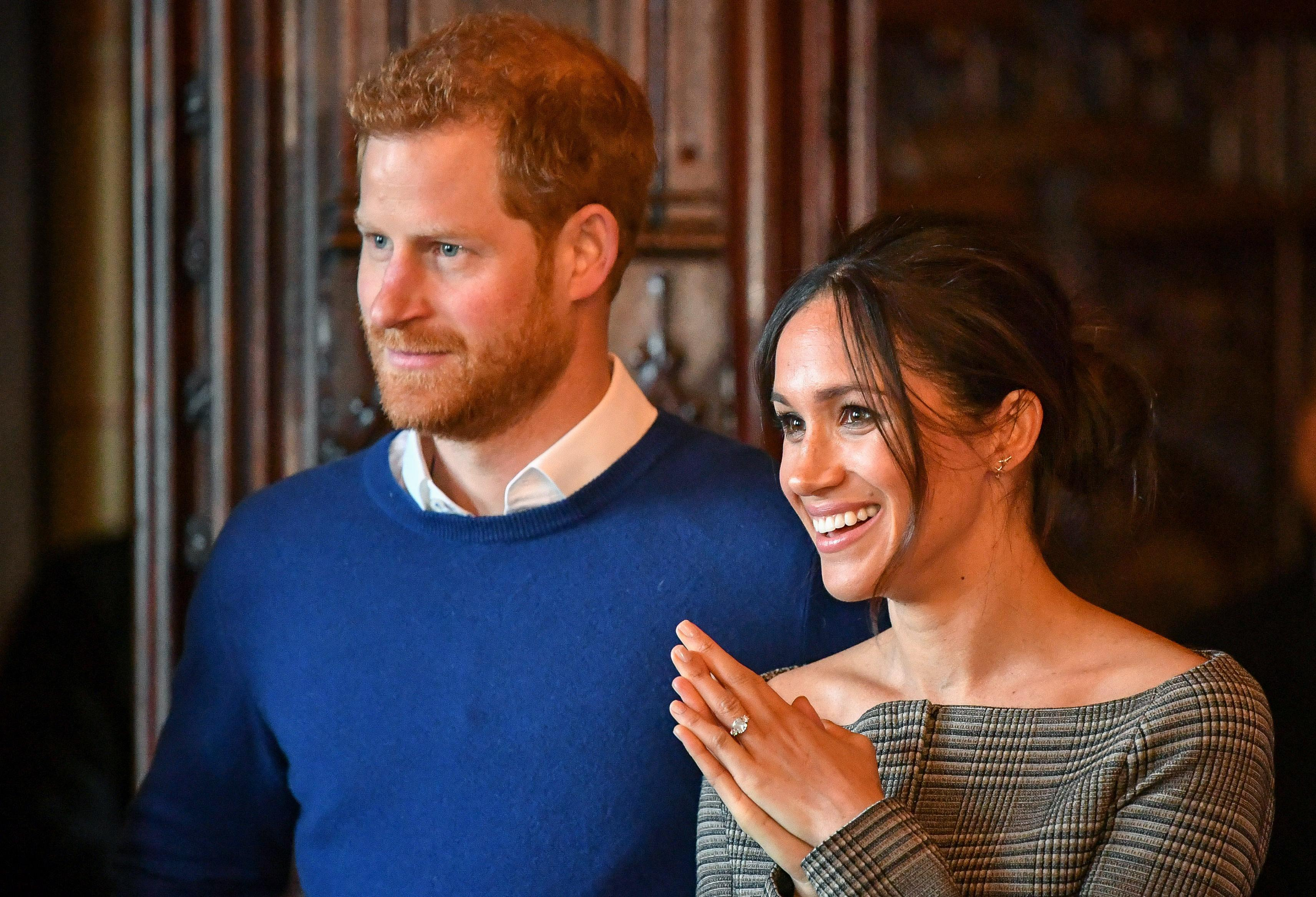 Prine Harry and Meghan Markle