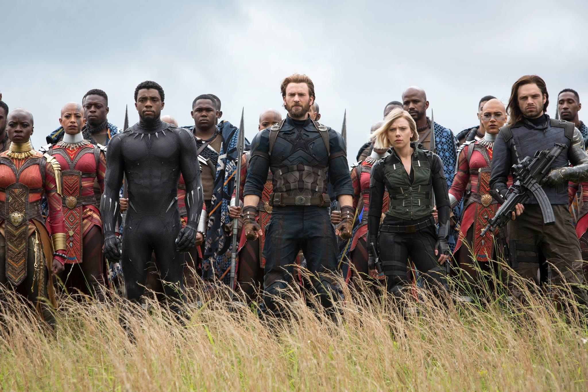 Avengers: Infinity War beats Batman v Superman, Black Panther ticket-sales records