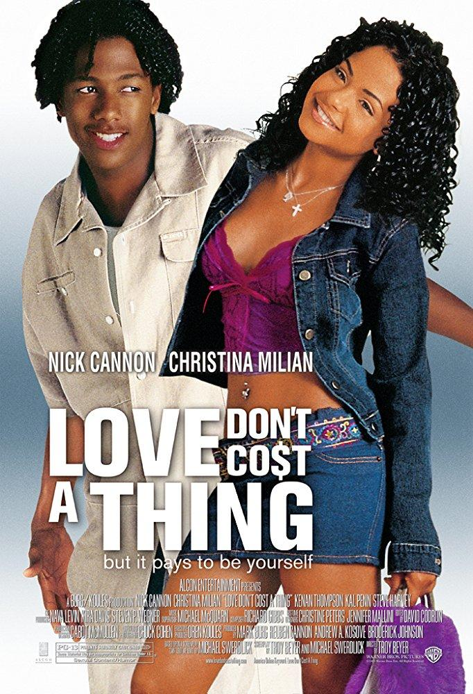 love dont cost a thing poster