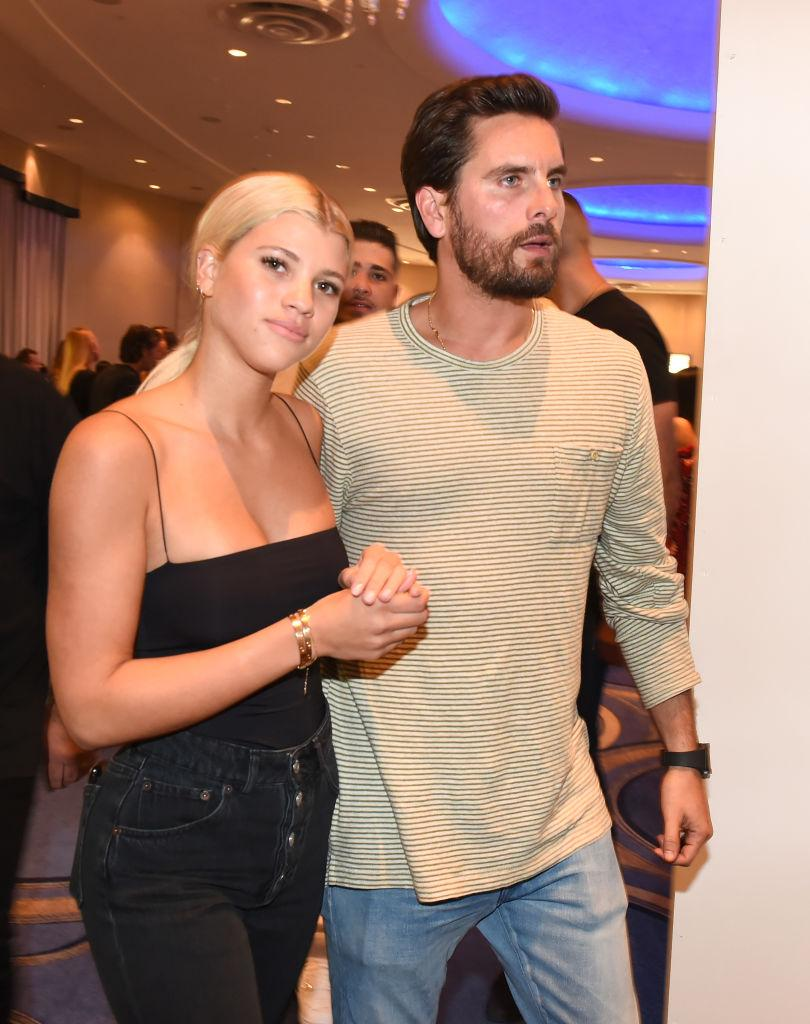 Scott Disick Goes On Vacation with Sofia Richie & His Kids