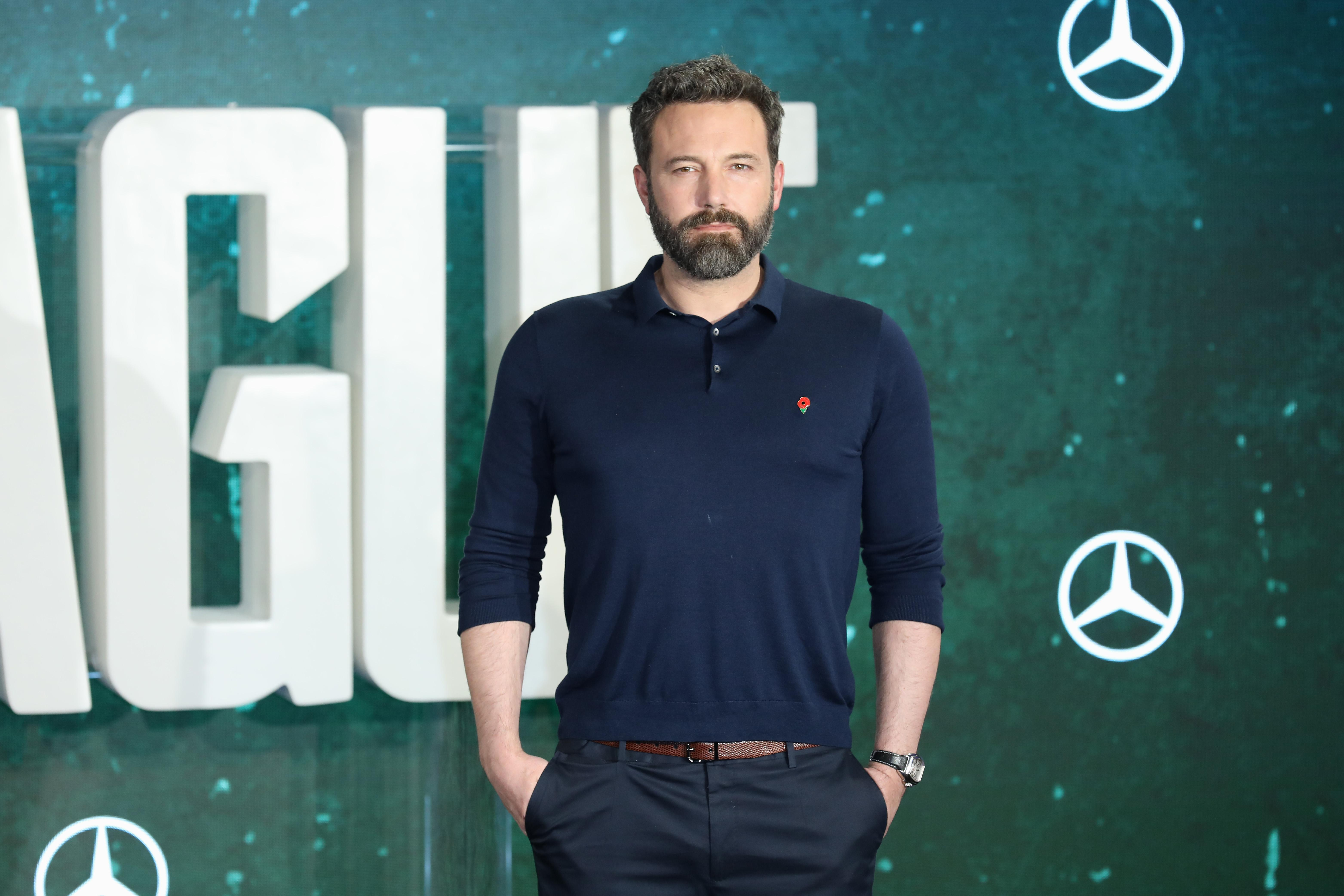 Ben Affleck breaks silence on his 'garish' back tattoo