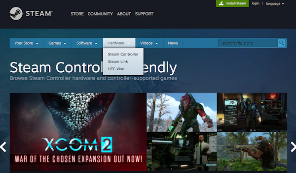 Poorly selling Steam Machines finally removed from Steam store front page
