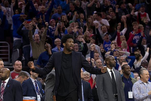 76ers' Embiid 'unlikely' for playoff Game 1 with eye injury