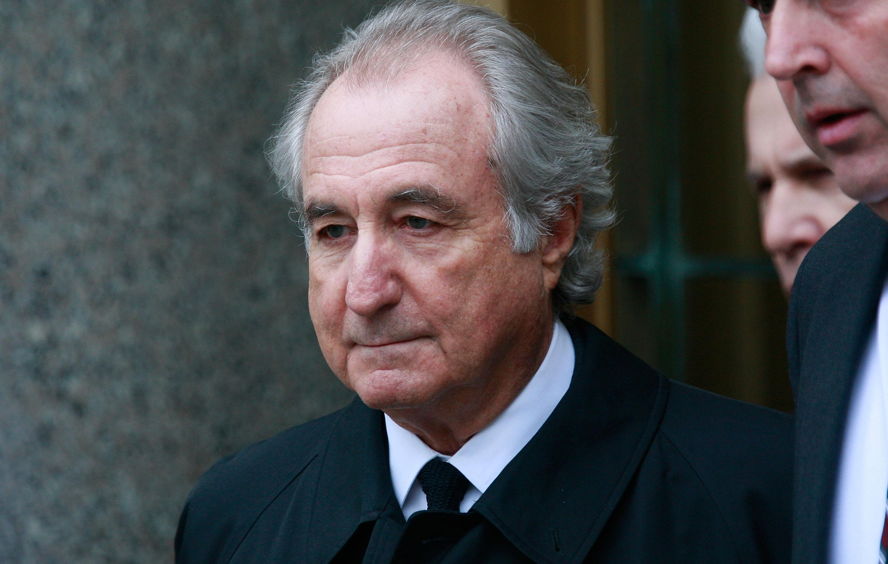 Bernie Madoff Passes Time In Prison With 'Horrible Novels