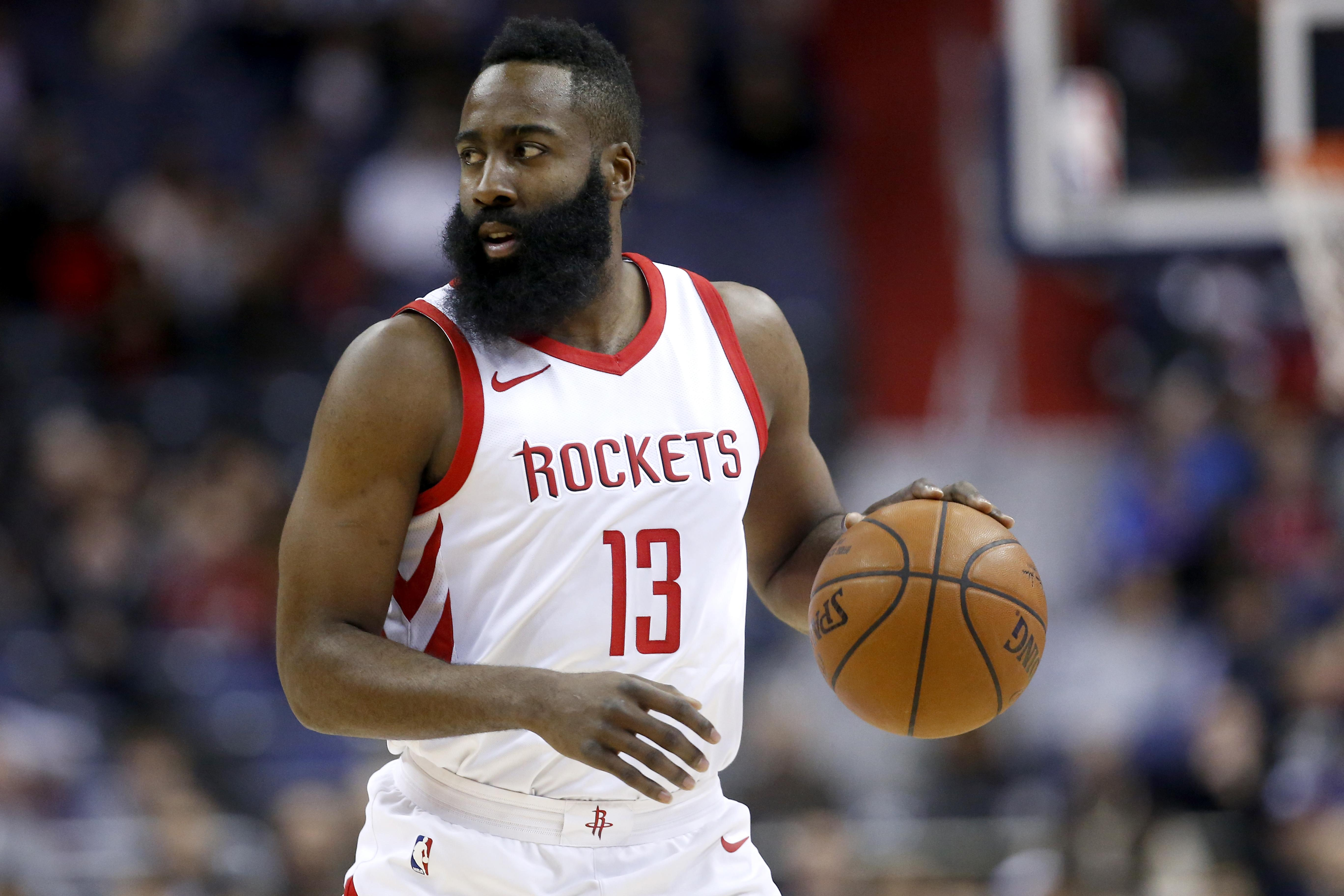 c24660f92cf James Harden is a contender for MVP this season. In this picture