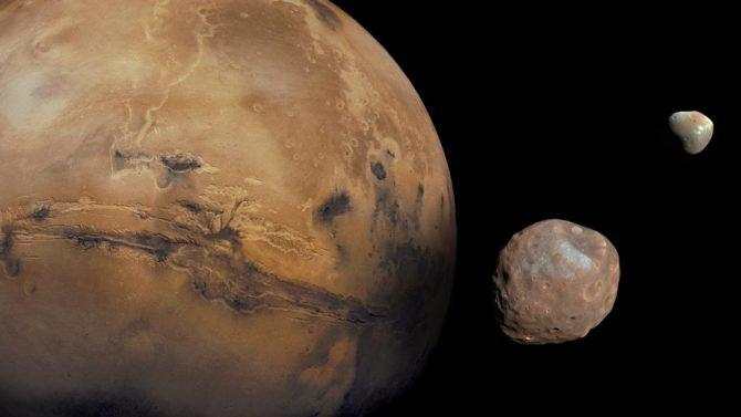 Giant Impact May Have Created Mars Moons
