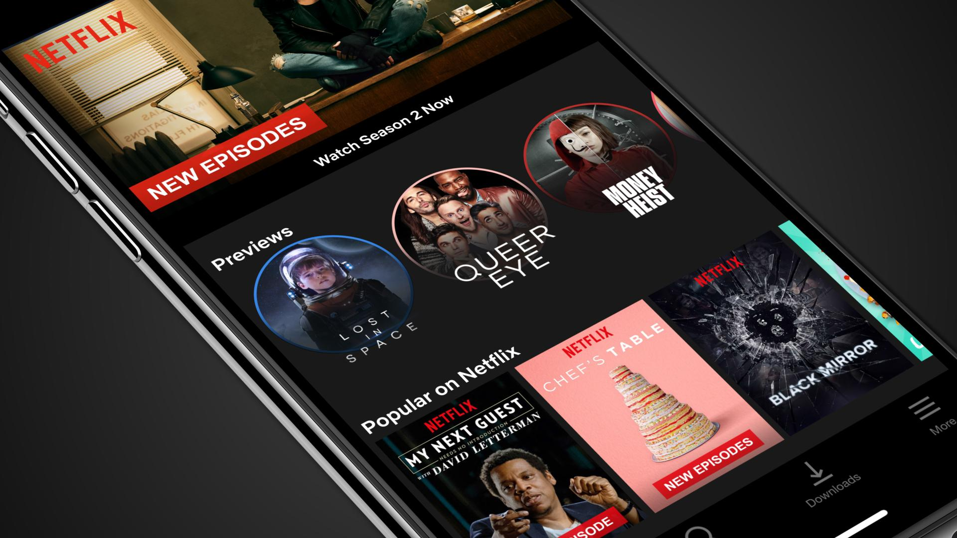 As Promised, Netflix Mobile Video Previews Arrive