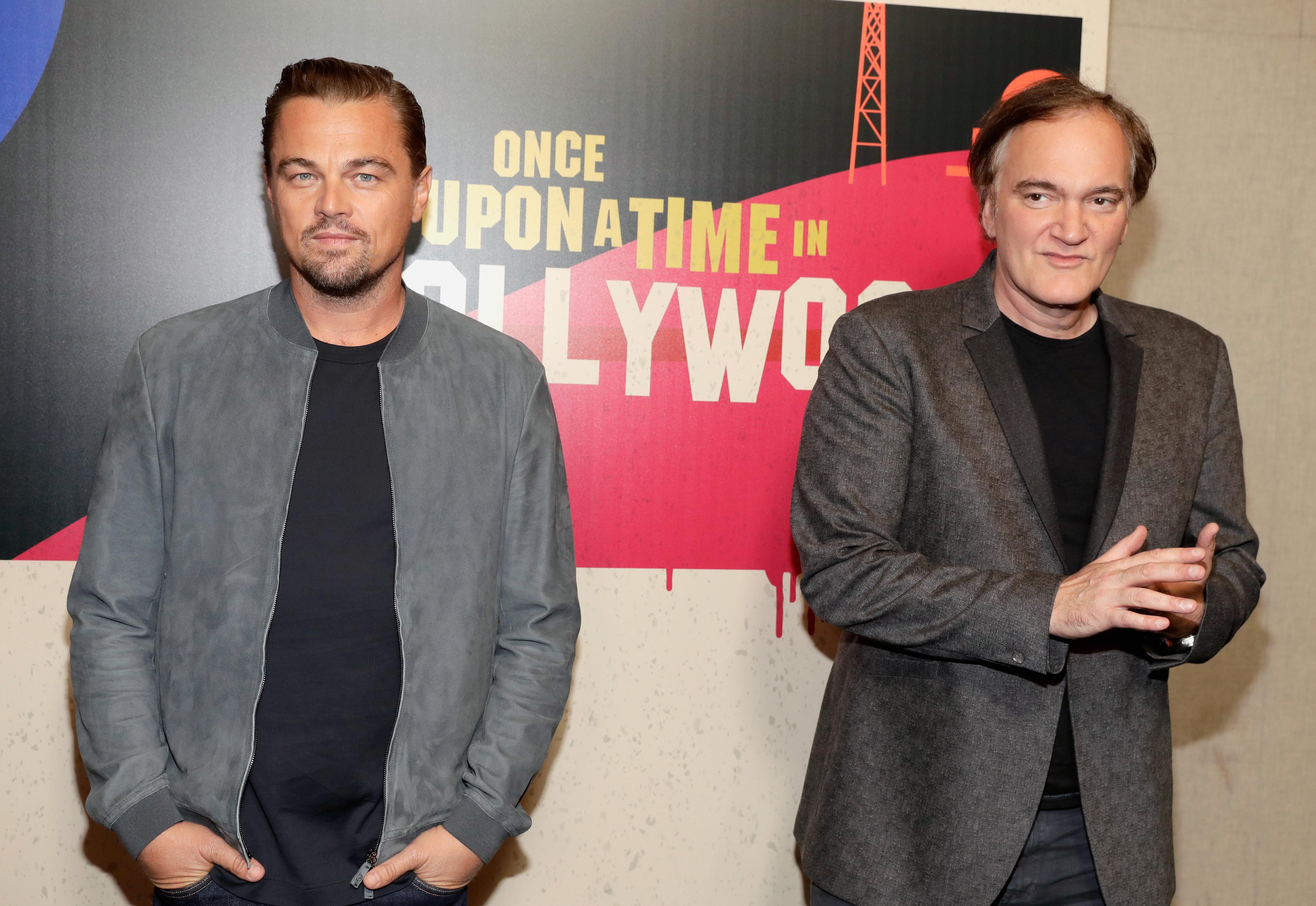 Quentin Tarantino, Leonardo DiCaprio Tease 'Once Upon a Time in Hollywood'