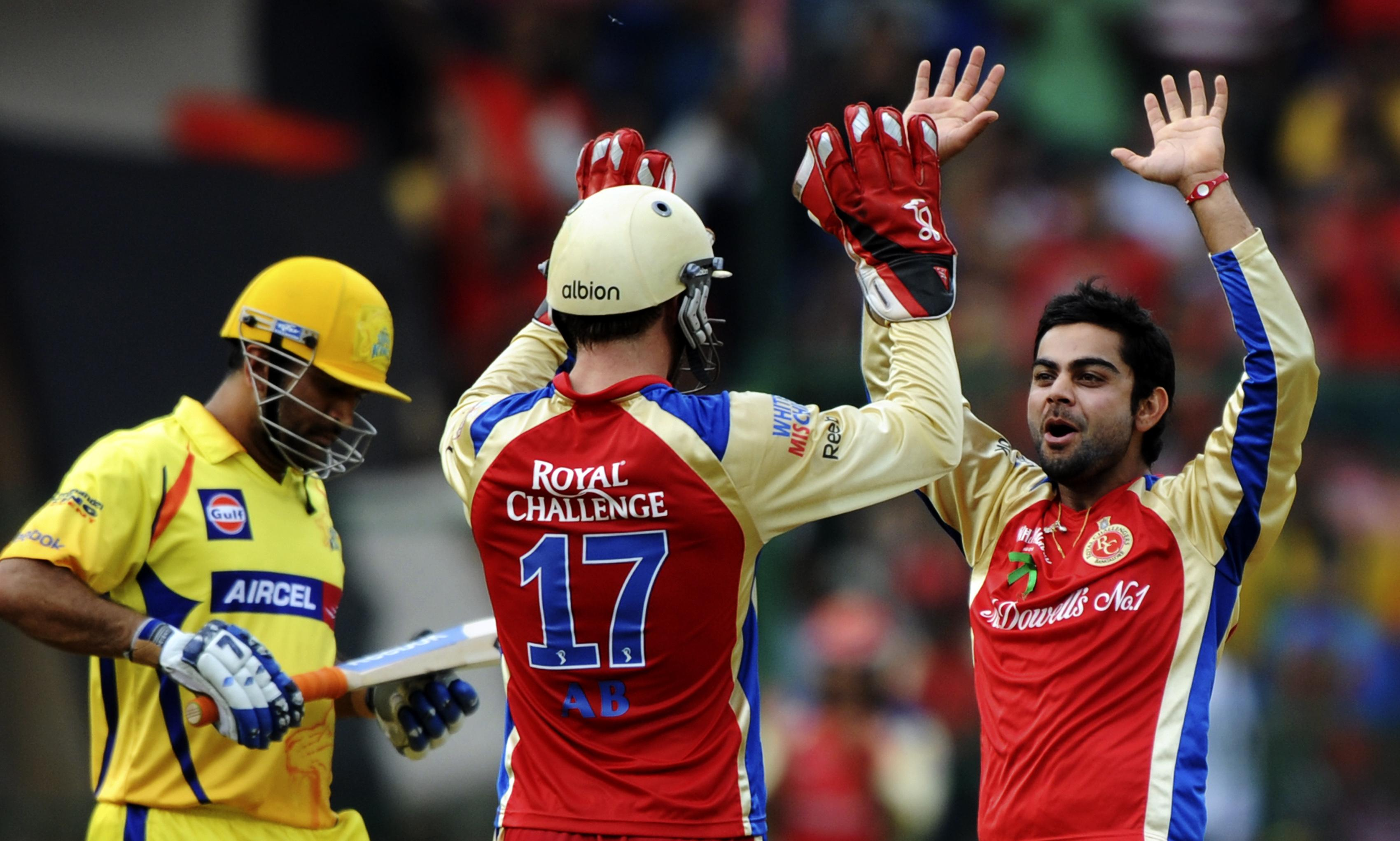 Live Cricket Streaming for Royal Challengers Bangalore v Chennai Super Kings