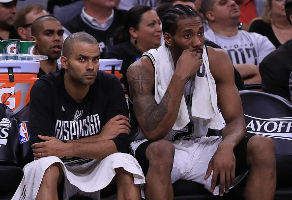 Kawhi Leonard back in San Antonio, meeting with Spurs not set, yet