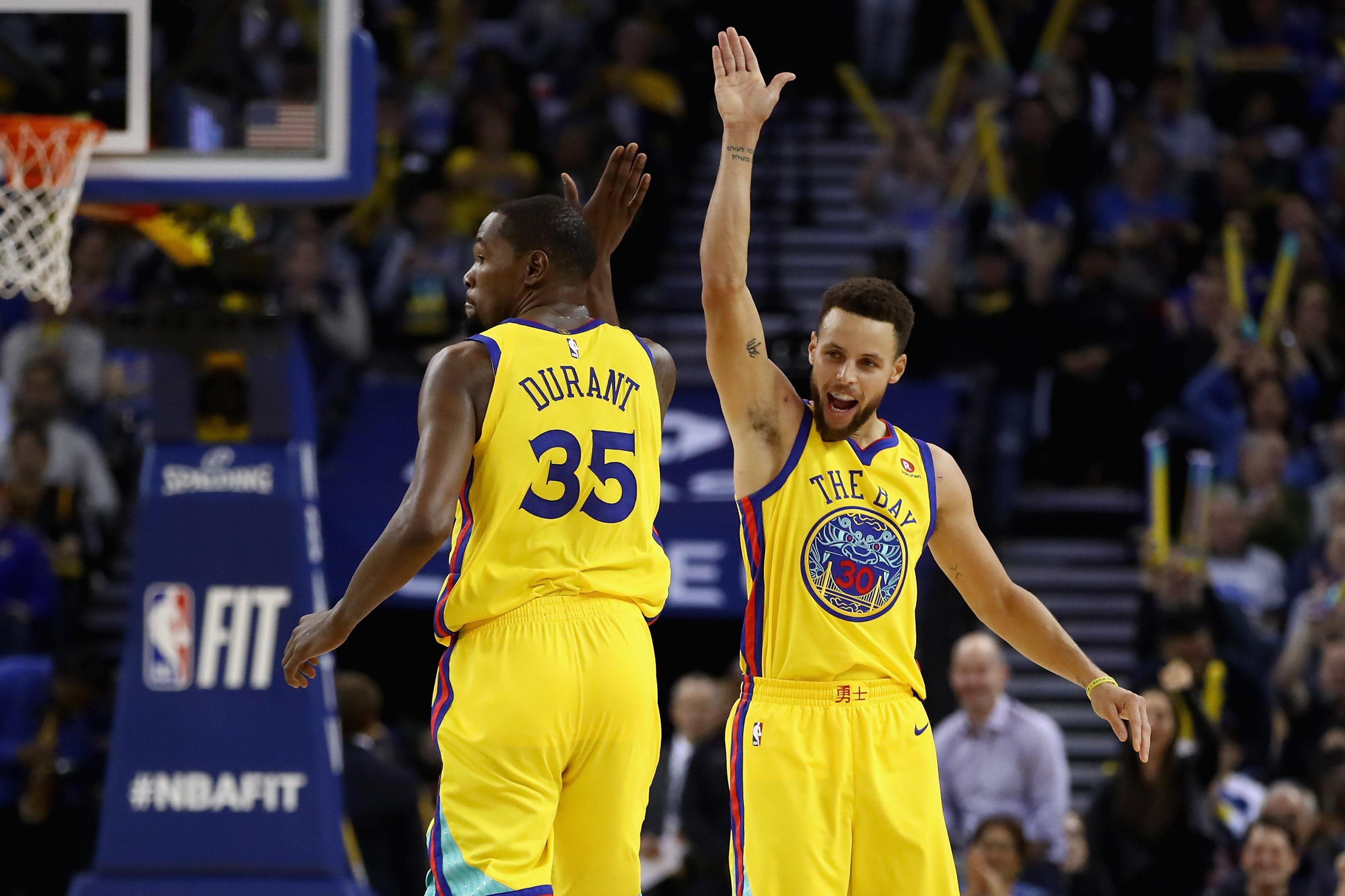 Durant sizzles to put Warriors on cusp of series win