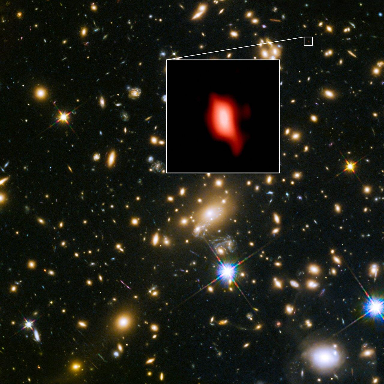 First Oxygen in the Universe