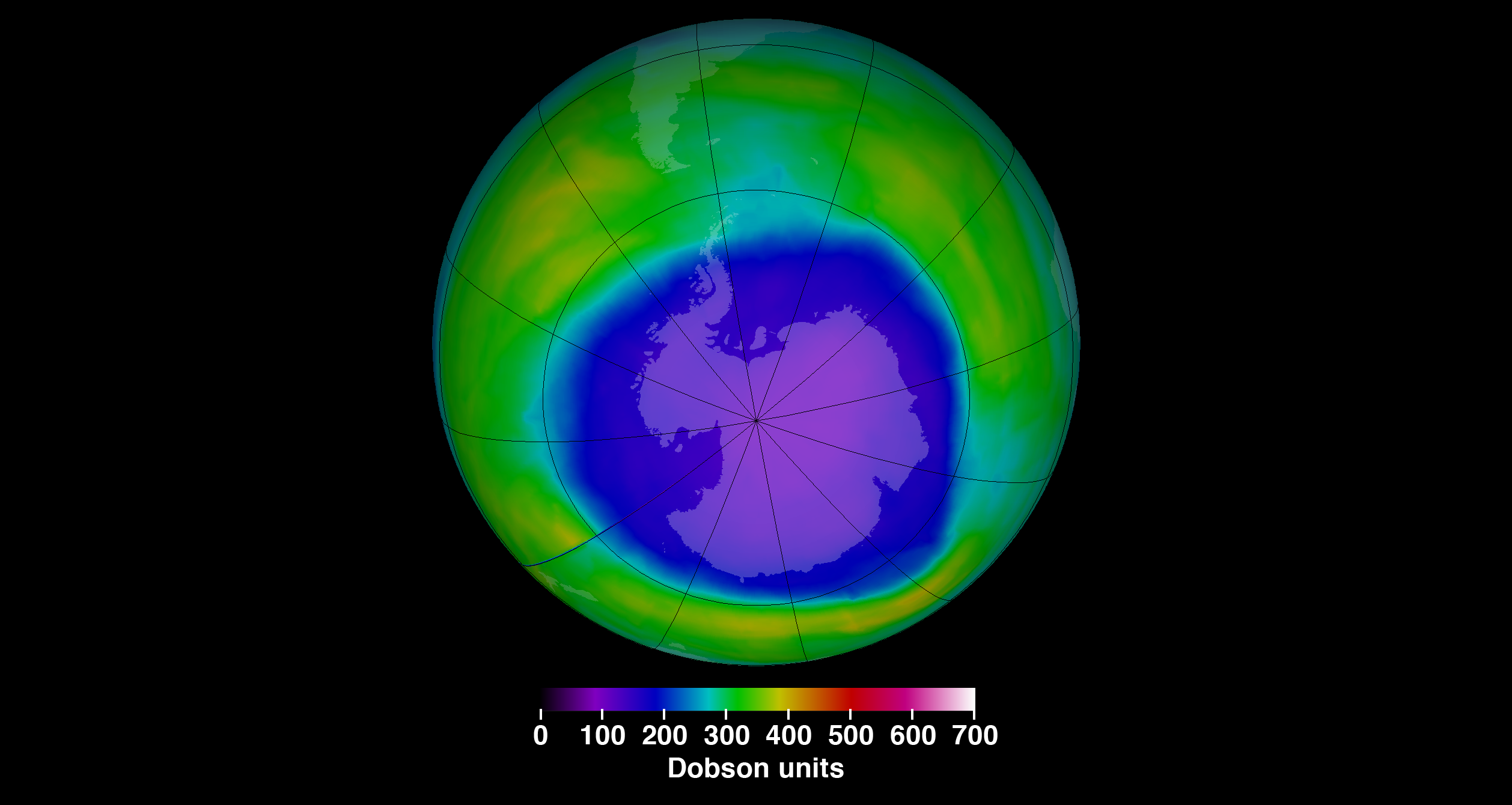 Ozone Hole Undergoes An Unexpected Change Since 1982