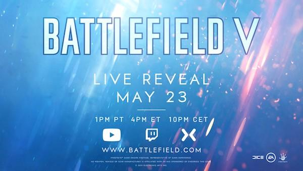 Battlefield V Reveal Event to Take Place Next Week