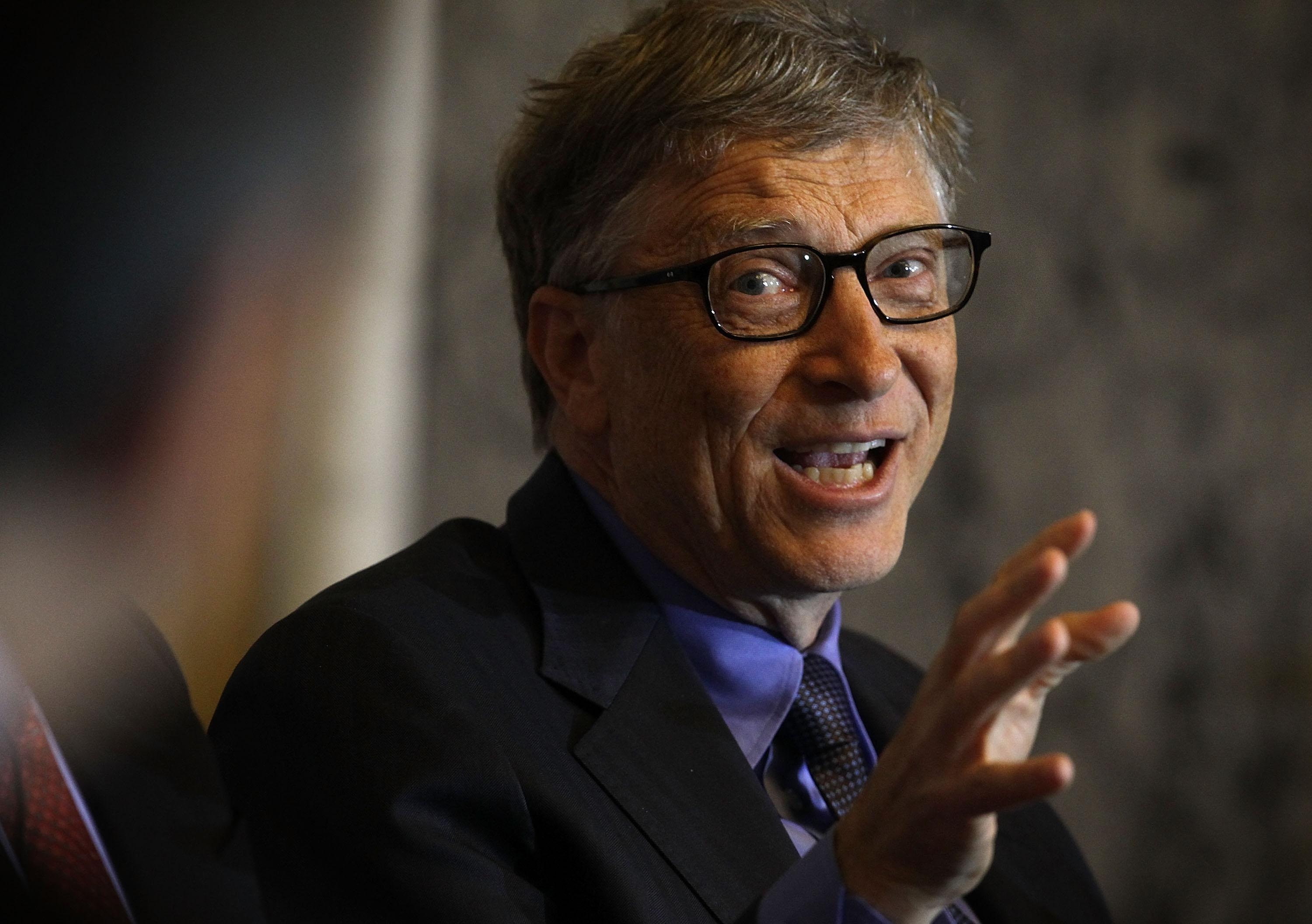 Bill Gates says Donald Trump didn't know what HIV was