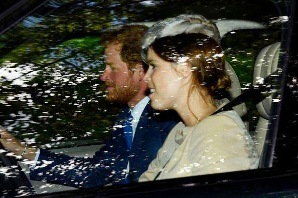 princess Prince eugenie harry