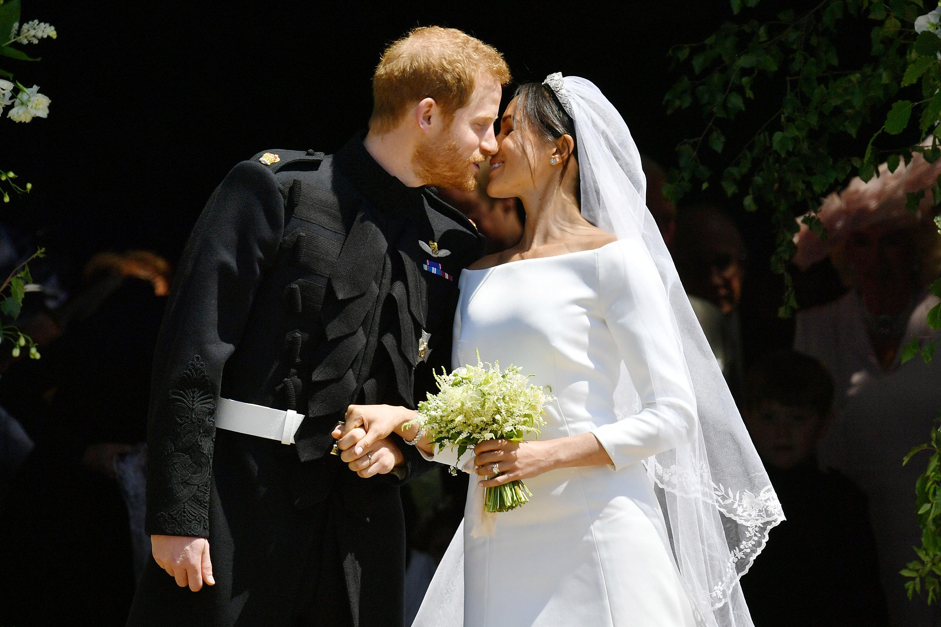 Where is Meghan Markle's bouquet