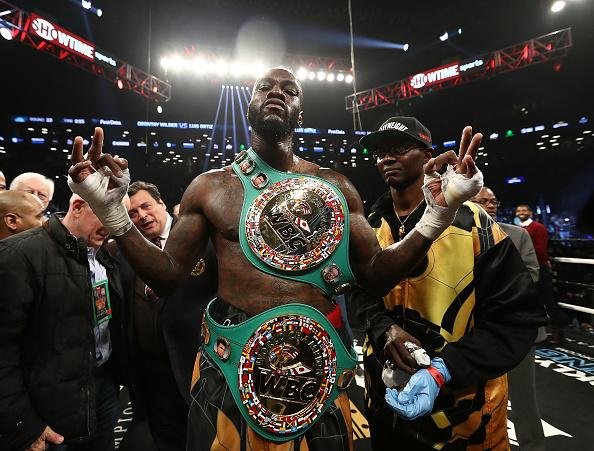 Wilder Manager Explains Why They Accepted Joshua in The UK