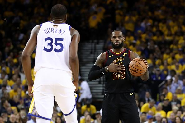 Kevin Durant Takes Low-Key Shot at LeBron James While Praising Himself""