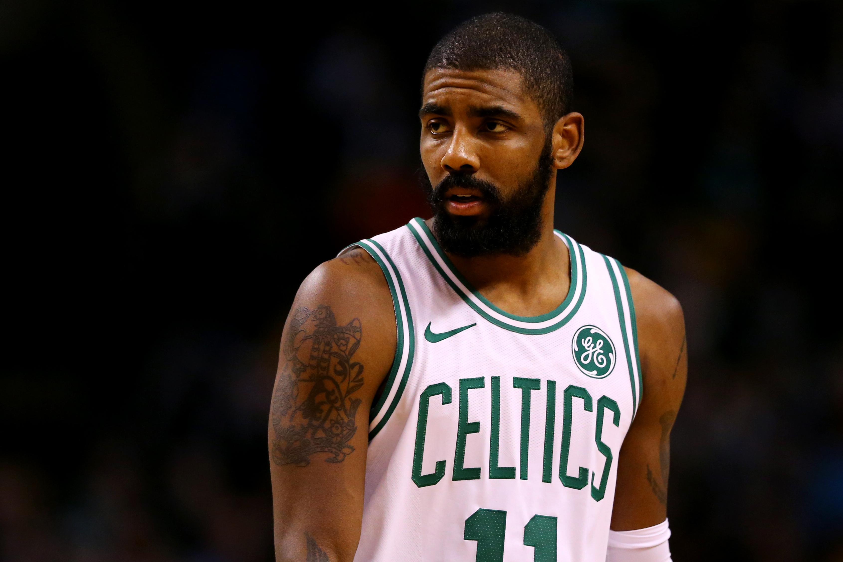 Kyrie Irving On LeBron James Reunion, Celtics Contract ...Kyrie Irving