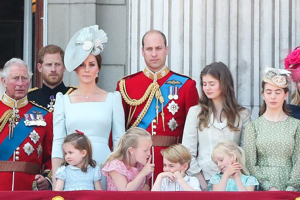 Prince William, Kate Middleton Announce Prince Louis' Christening Service