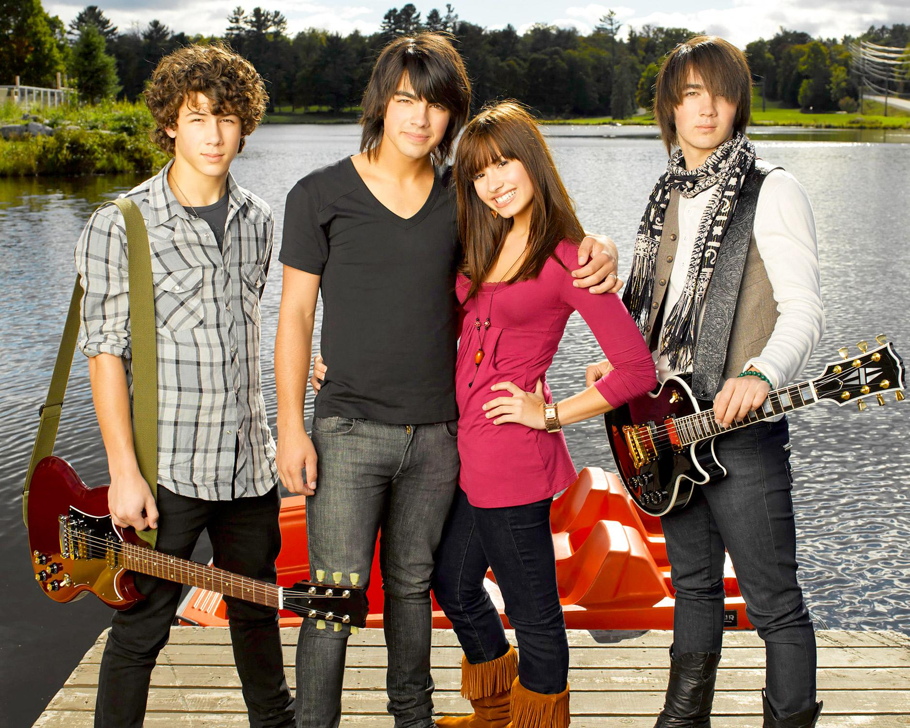 camp rock demi jonas