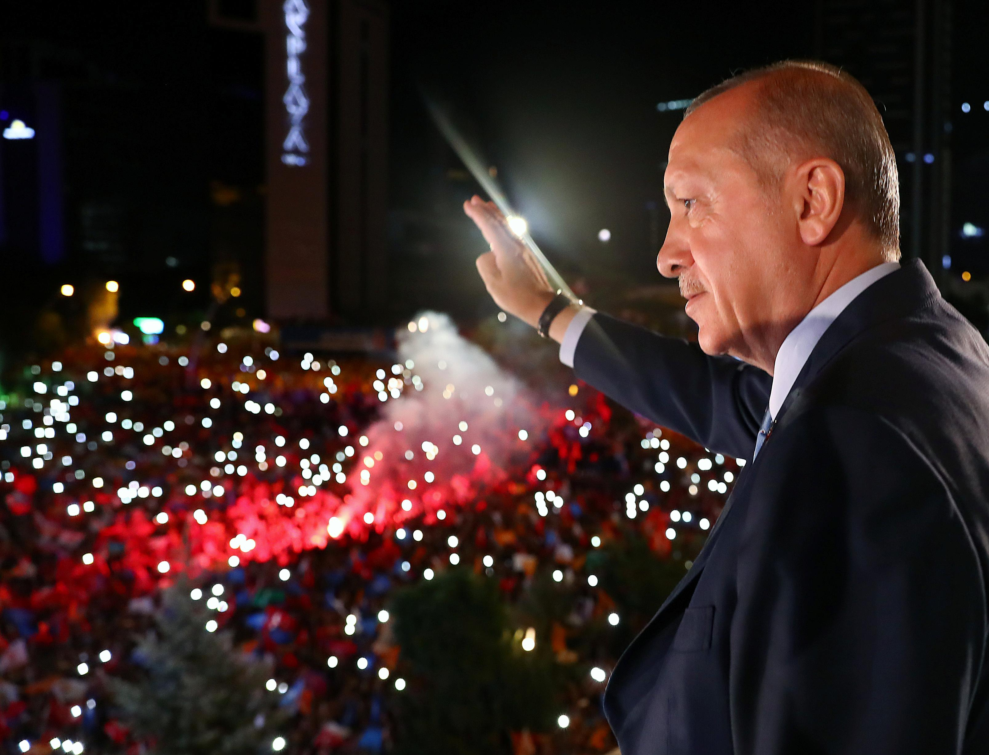 "Résultat de recherche d'images pour ""Turkey's Erdogan emerges victorious from elections, wins new powers"""