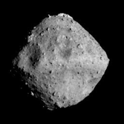 Japan probe arrives at asteroid after almost  four-year space odyssey