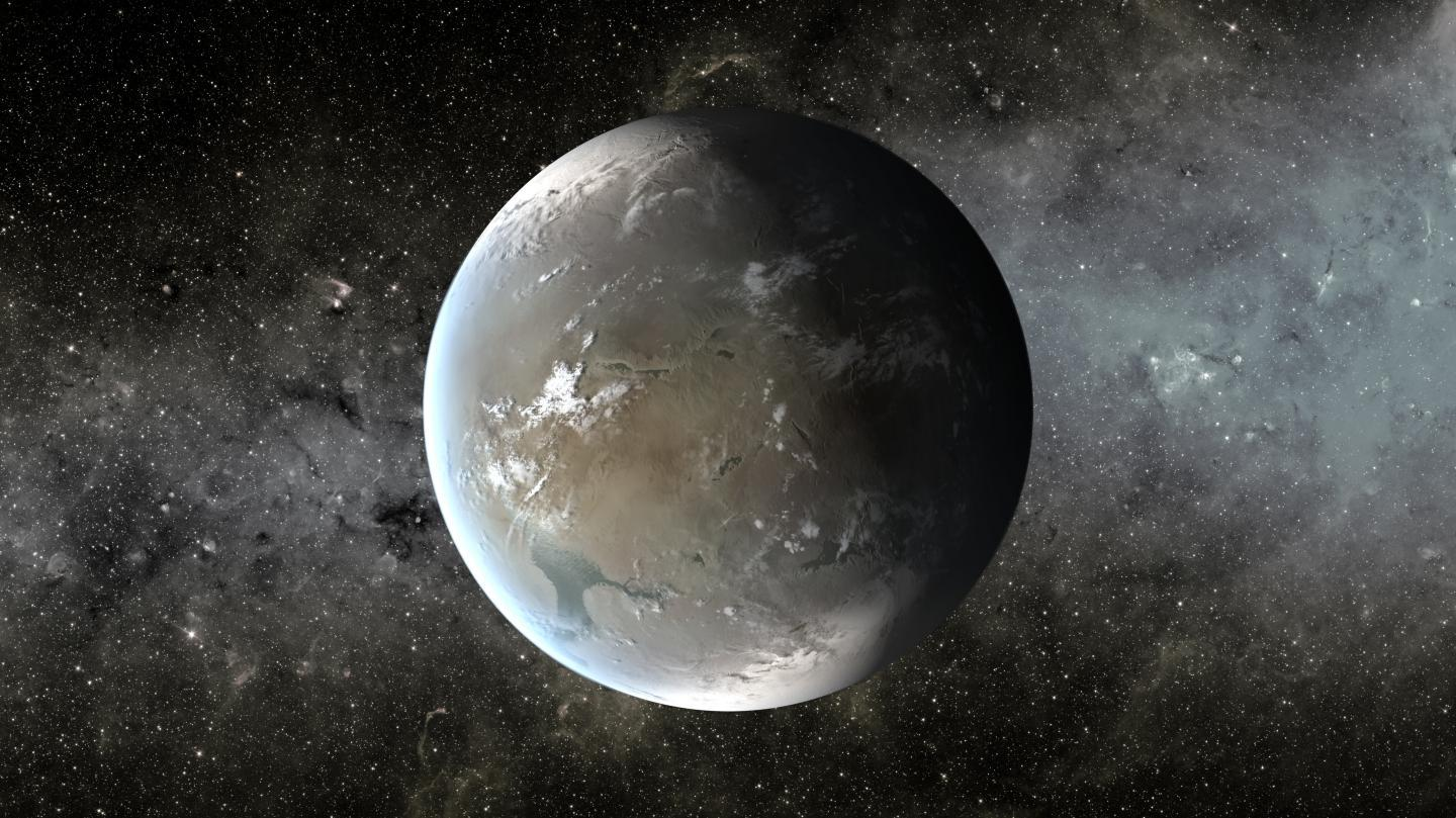 Kepler-62f [19659005] An artist description by Kepler-62f. </span> <span class=
