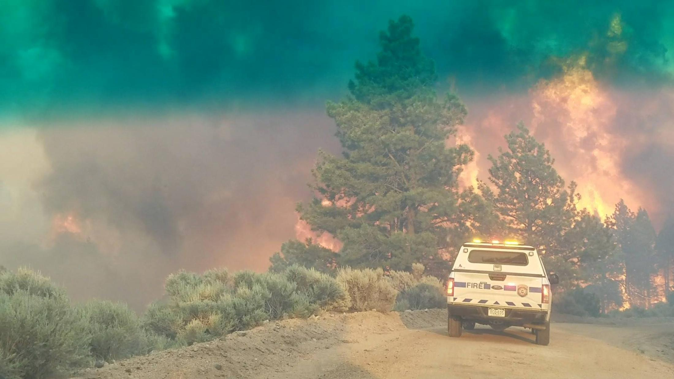 Costilla county wildfire