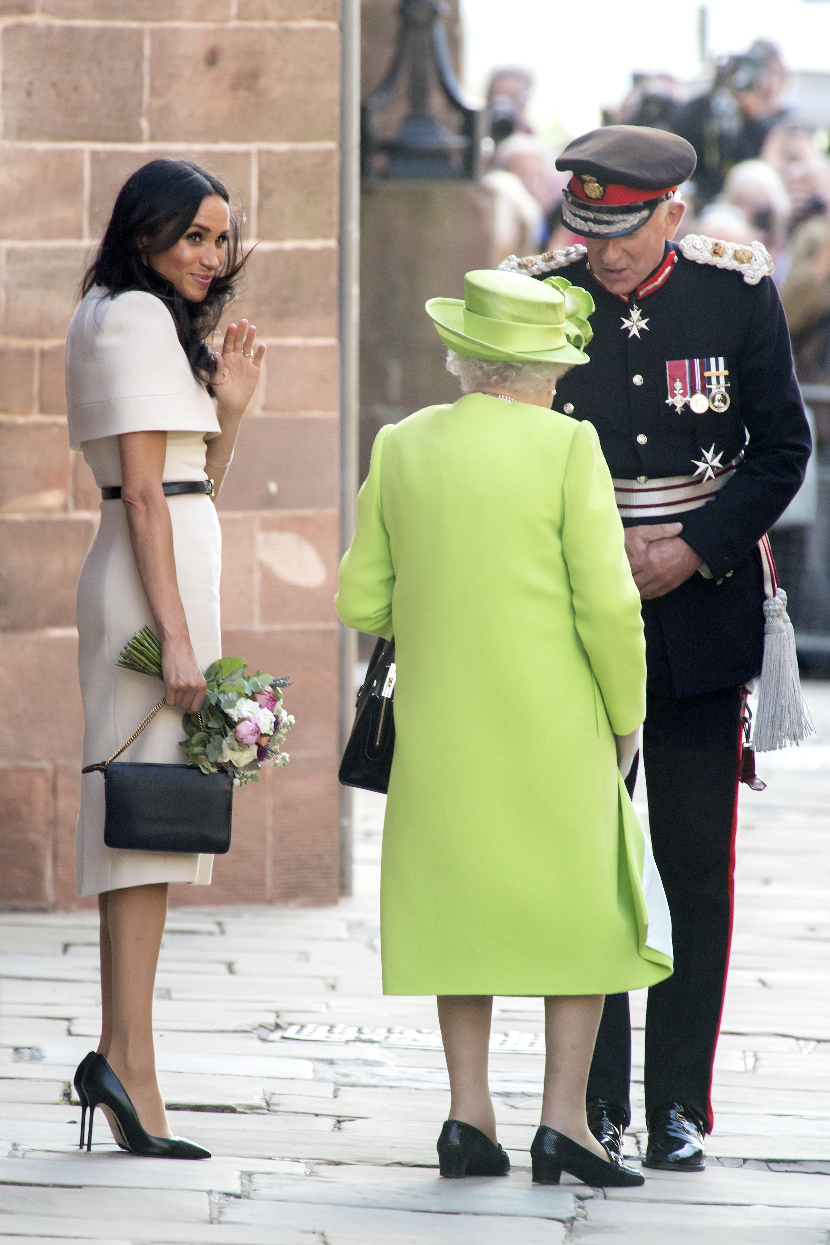 Meghan Markle S Shoes On Ireland Tour Stop Cost This Much