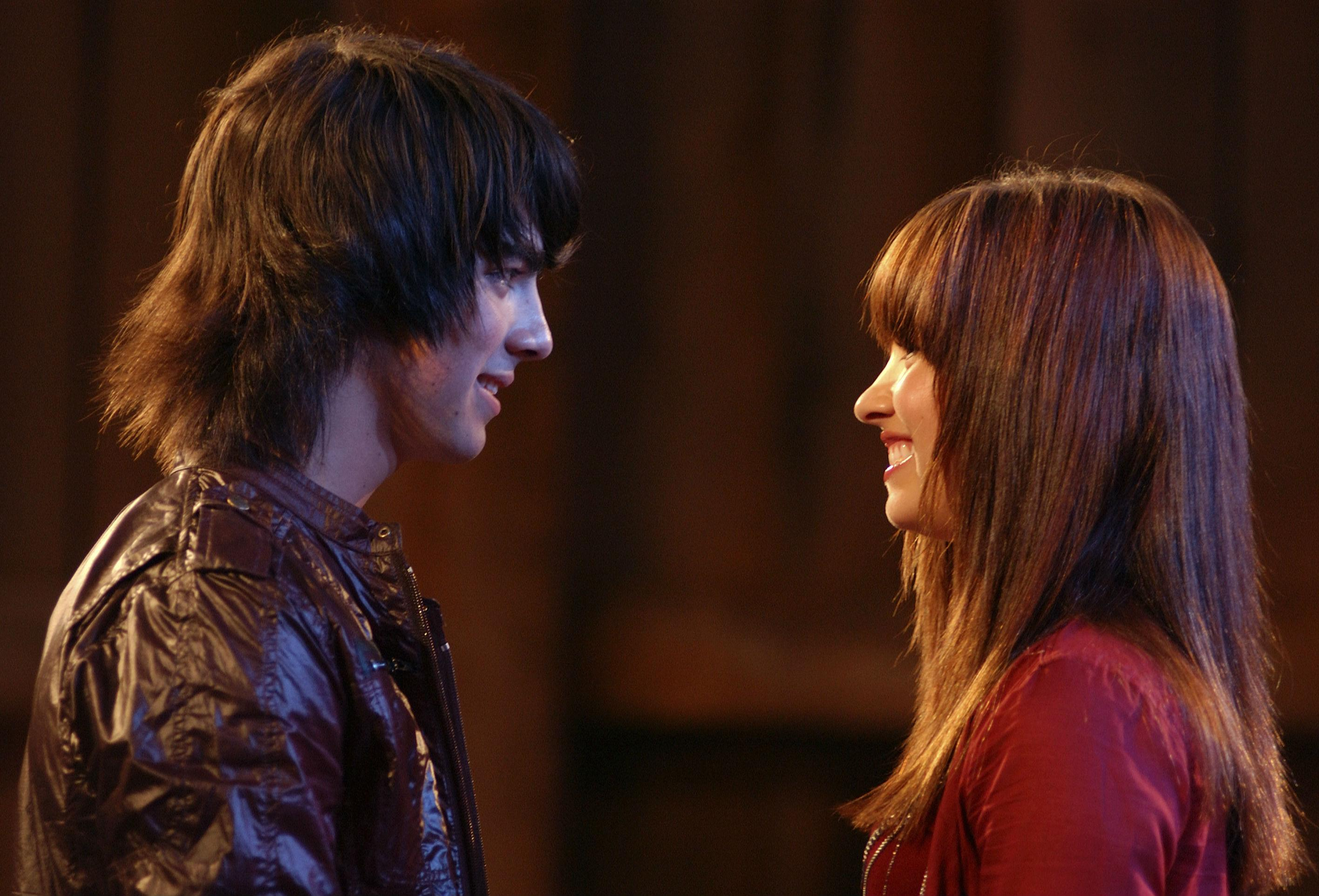 camp rock kiss