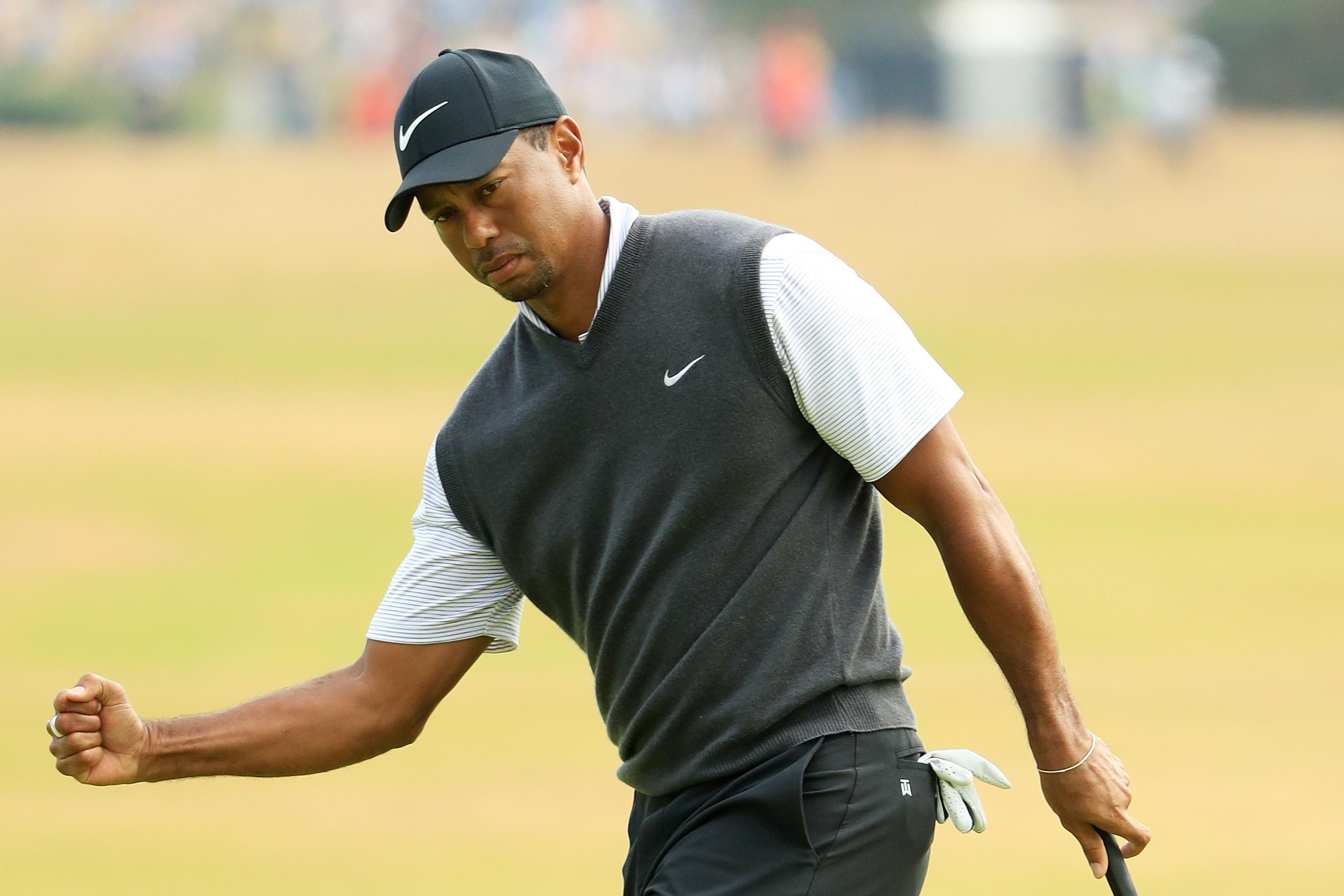 british open 2018 leaderboard  can tiger woods win his